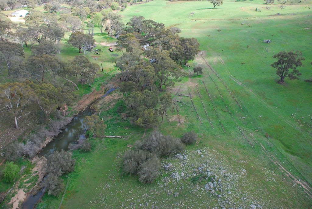 Protecting and enhancing intact riparian areas along the Boorowa River