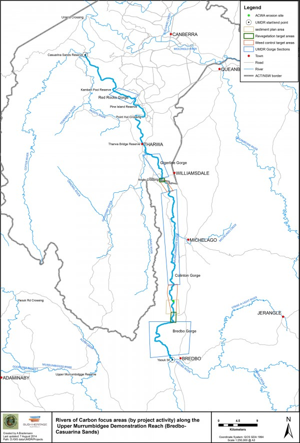 ROC UBRR project overview map