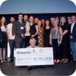 Sunshine Coast Council accepting Riverprize Award
