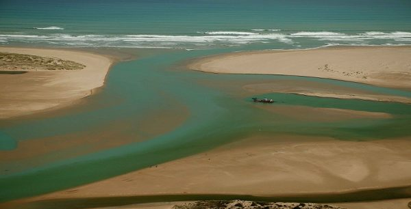 Mouth of the Murray River, South Australia. Photo MDBA.